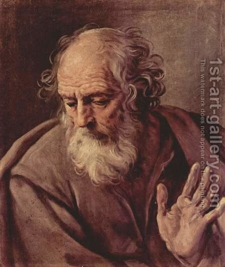 St. Joseph by Guido Reni - Reproduction Oil Painting