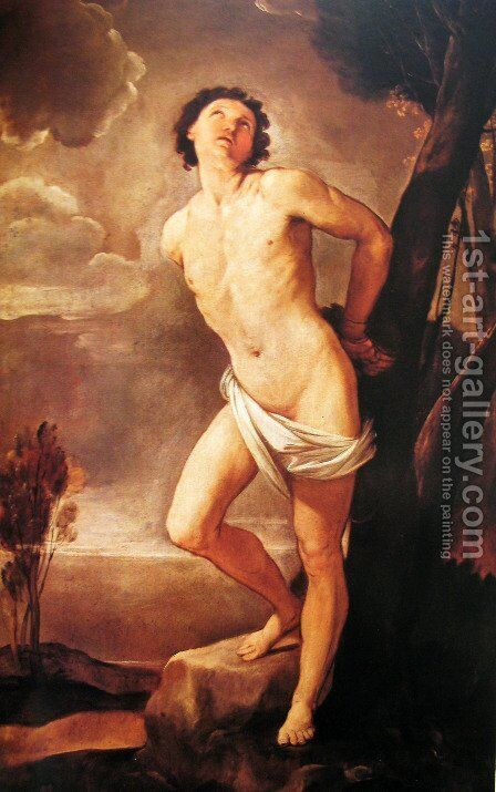 St. Sebastian 2 by Guido Reni - Reproduction Oil Painting