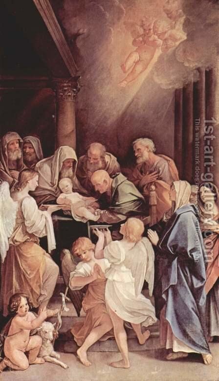 The circumcision of the Child Jesus by Guido Reni - Reproduction Oil Painting