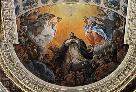 The Glory of St Dominic by Guido Reni - Reproduction Oil Painting