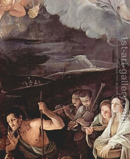 Adoration of the Shepherds, detail 2 by Guido Reni - Reproduction Oil Painting