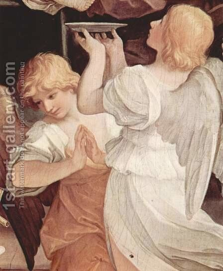 The circumcision of the Child Jesus, Detail 3 by Guido Reni - Reproduction Oil Painting