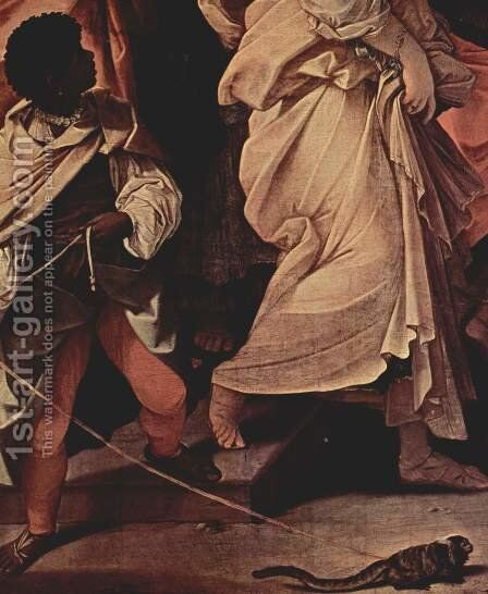 The robbery of Helena, Detail 1 by Guido Reni - Reproduction Oil Painting