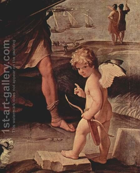 The robbery of Helena, Detail 2 by Guido Reni - Reproduction Oil Painting