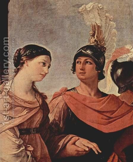 The robbery of Helena, Detail 4 by Guido Reni - Reproduction Oil Painting