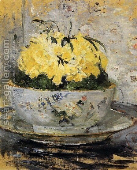 Daffodils by Berthe Morisot - Reproduction Oil Painting