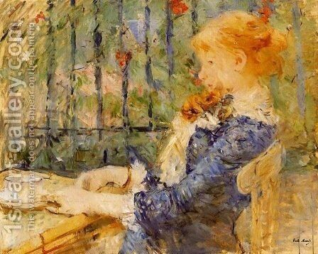 Tea by Berthe Morisot - Reproduction Oil Painting