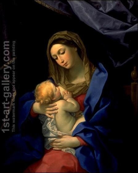 Madonna and Child by Guido Reni - Reproduction Oil Painting