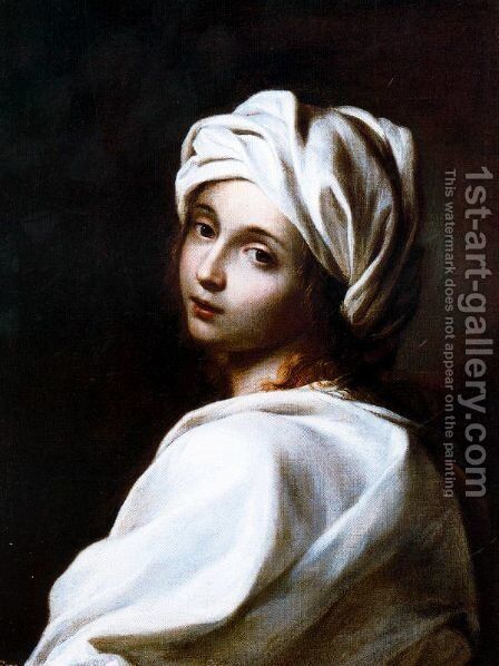 Portrait of Beatrice Cenci by Guido Reni - Reproduction Oil Painting