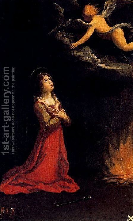 Santa Apolonia in prayer by Guido Reni - Reproduction Oil Painting
