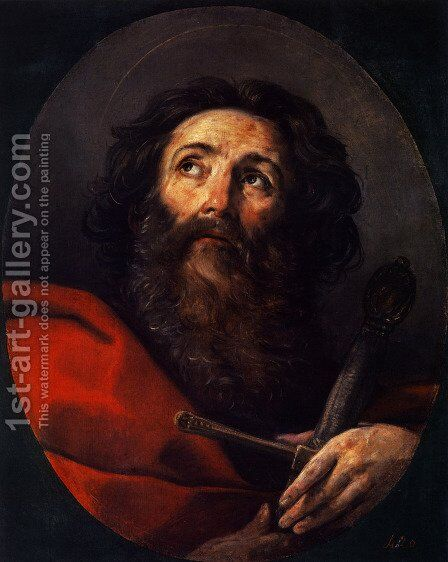 St Paul by Guido Reni - Reproduction Oil Painting