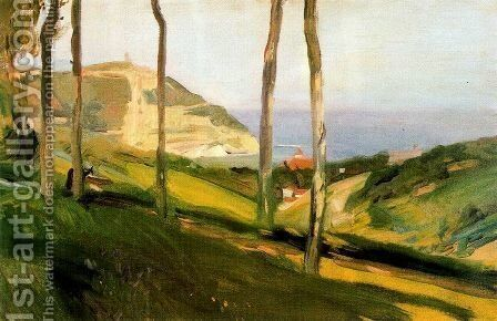 Landcape of San Sebastian by Joaquin Sorolla y Bastida - Reproduction Oil Painting