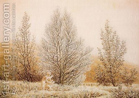 Spring by Caspar David Friedrich - Reproduction Oil Painting