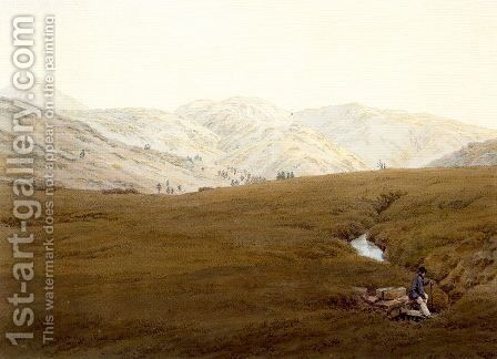 The Source of the River Elbe by Caspar David Friedrich - Reproduction Oil Painting