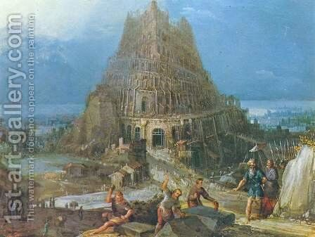 Tower of Babel by Pieter the Elder Bruegel - Reproduction Oil Painting