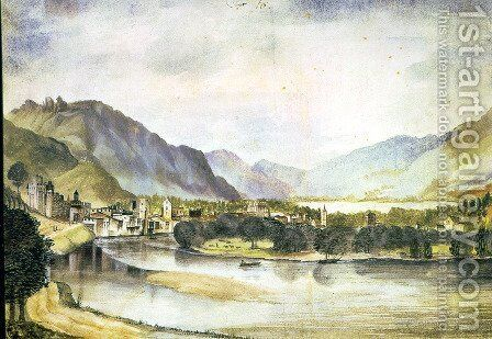 View of Trento by Albrecht Durer - Reproduction Oil Painting