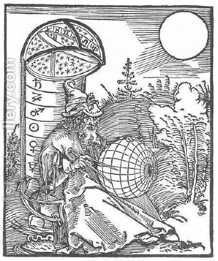 Astronomer by Albrecht Durer - Reproduction Oil Painting