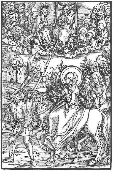 Illustration to Revelationes Sancte Birgitte 2 by Albrecht Durer - Reproduction Oil Painting