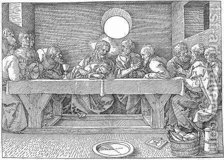 The Last Supper by Albrecht Durer - Reproduction Oil Painting