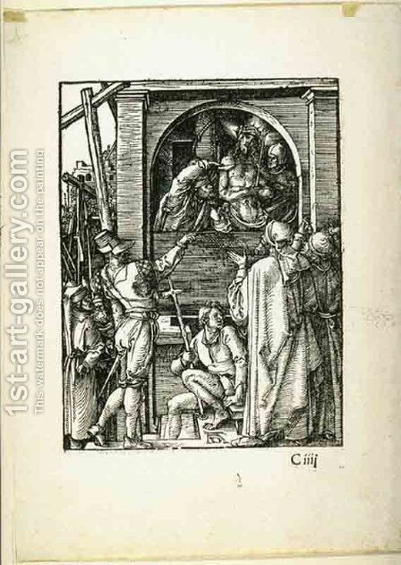 The Small Passion Ecce Homo by Albrecht Durer - Reproduction Oil Painting