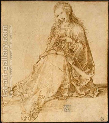 Anuntiation by Albrecht Durer - Reproduction Oil Painting