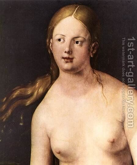 Eve (detail) by Albrecht Durer - Reproduction Oil Painting