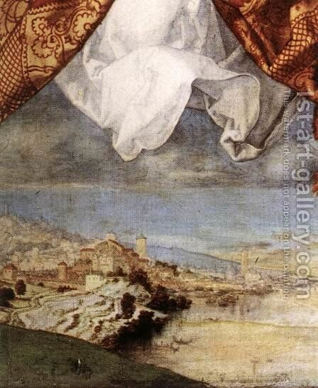 The Adoration of the Trinity (detail 5) by Albrecht Durer - Reproduction Oil Painting