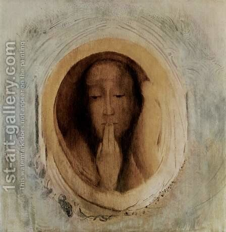Silence 3 by Odilon Redon - Reproduction Oil Painting