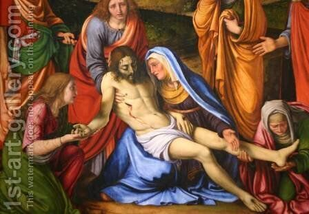 Lamentation by Andrea Solari - Reproduction Oil Painting