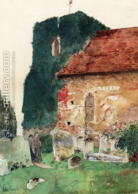 Canterbury by Childe Hassam - Reproduction Oil Painting