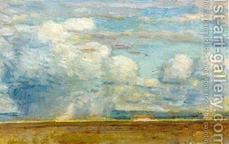 Clouds by Childe Hassam - Reproduction Oil Painting