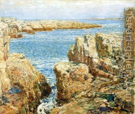Coast Scene, Isles of Shoals by Childe Hassam - Reproduction Oil Painting