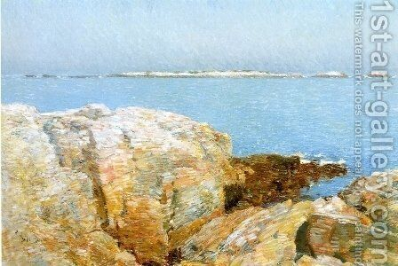 Duck Island by Childe Hassam - Reproduction Oil Painting