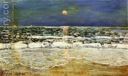 East Hampton by Childe Hassam - Reproduction Oil Painting