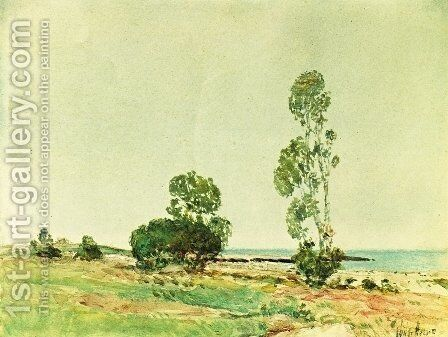 East Hampton 2 by Childe Hassam - Reproduction Oil Painting
