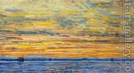 Evening by Childe Hassam - Reproduction Oil Painting