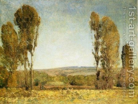 Golden Afternoon by Childe Hassam - Reproduction Oil Painting