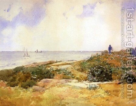 Isles of Shoals 1 by Childe Hassam - Reproduction Oil Painting