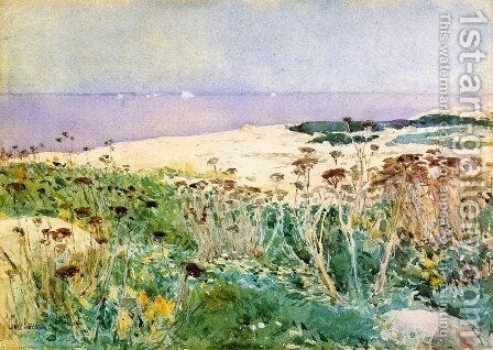 Isles of Shoals 5 by Childe Hassam - Reproduction Oil Painting