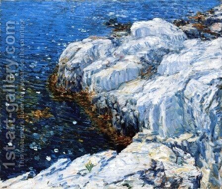 Jelly Fish by Childe Hassam - Reproduction Oil Painting