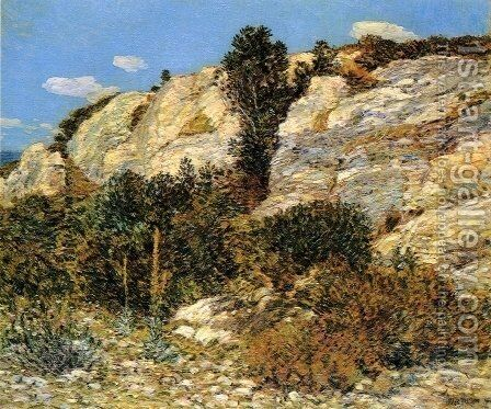 Lyman's Ledge, Appledore by Childe Hassam - Reproduction Oil Painting