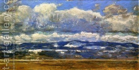 Over the Great Divide by Childe Hassam - Reproduction Oil Painting
