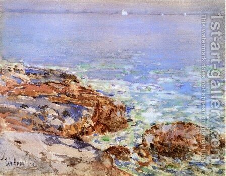 Seascape, Isles of Shoals by Childe Hassam - Reproduction Oil Painting