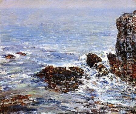 Seascape by Childe Hassam - Reproduction Oil Painting