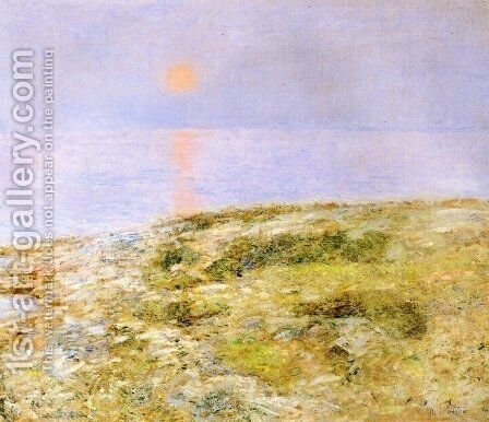 Sunset, Isle of Shoals by Childe Hassam - Reproduction Oil Painting