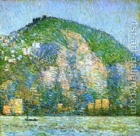Telegraph Hill by Childe Hassam - Reproduction Oil Painting