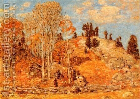 The Cedar Lot, Old Lyme by Childe Hassam - Reproduction Oil Painting