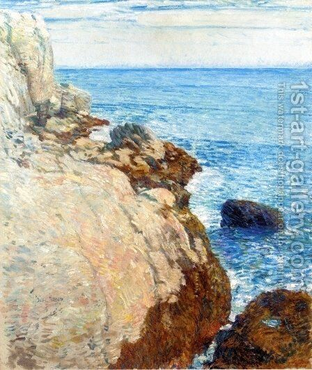 The East Headland, Appledore by Childe Hassam - Reproduction Oil Painting