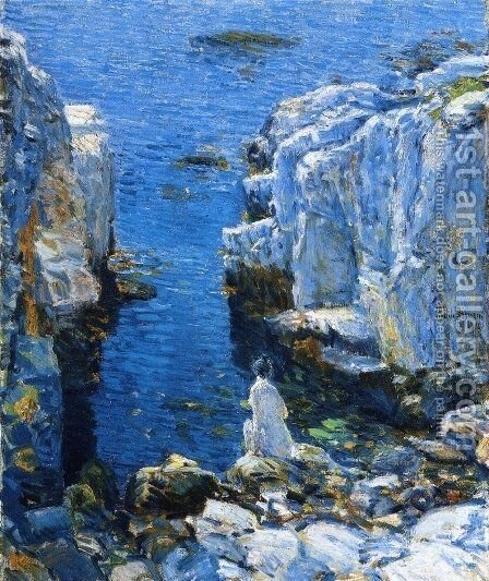 The Isles of Shoals by Childe Hassam - Reproduction Oil Painting