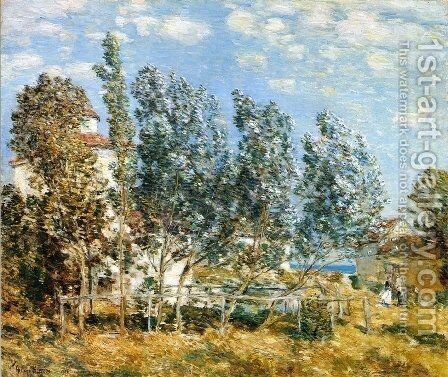 The Southwest Wind by Childe Hassam - Reproduction Oil Painting